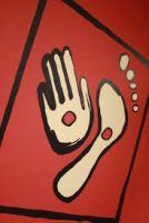 X hands feet